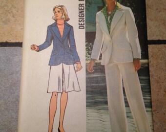 Simplicity 5454 Size 10 Misses' Jacket, Skirt, and Pants Pattern UNCUT