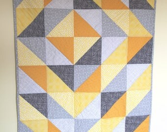 Here Comes the Sun + Modern Baby Quilt
