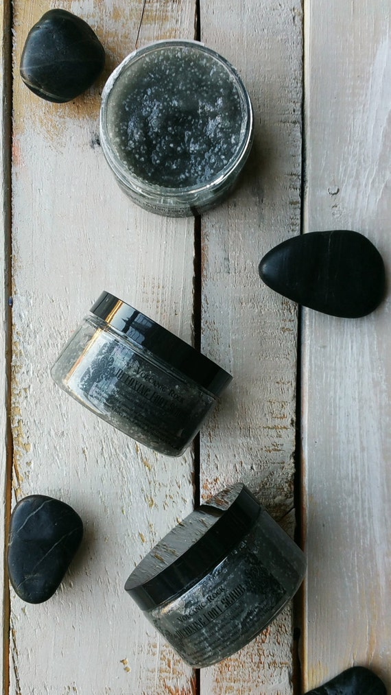 Volcanic Rock Detoxifying Foot Scrub