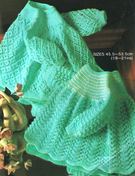 Knitting Pattern Angel Top : Items similar to Baby Knitting Pattern / Dress or Top ...