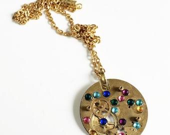 Steampunk Necklace Steampunk Jewelry