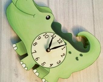 Alligator Kids Wall Clock WC0094