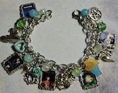 Charm Bracelet themed after Studio Gihbli, Torturo, Spirited Away, anime, fantasy, Japanese