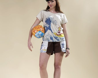"shorts and T-shirt "" Yellow Submarine "", short beattles, tshirt beattles"
