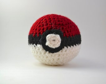 crochet pokeball