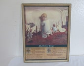 Picture My Dollies Prayer Vintage Wood Framed