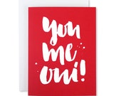 Love Card / you me oui! / Valentine Greeting Card