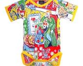 Vintage / Handmade / Bodysuit - Matisse Daydream