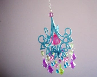 Gypsy Jewel Car Chandelier MADE TO ORDER