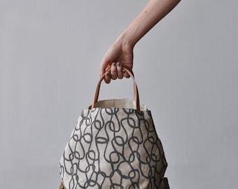 BOX TOTE - knit