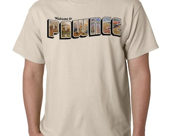 """The """"Welcome to Pawnee"""" T-Shirt, inspired by Parks and Recreation"""