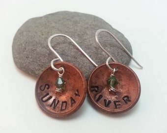 Sunday River Lucky Penny Earrings