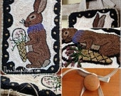 Punch Needle Pattern - Spring Greetings - #PN536 - Needlepunch Embroidery
