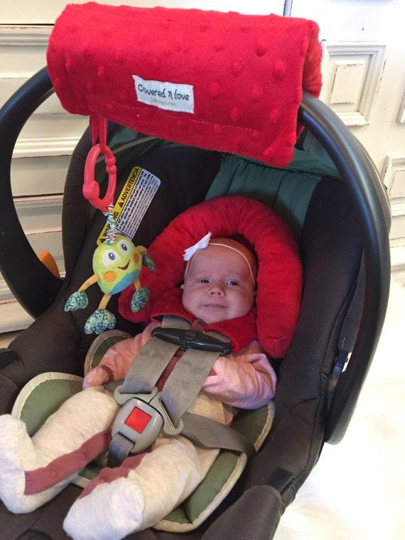 Car seat CUDDLE bundle set YOU pick minky color