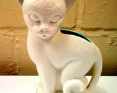 Mid Century Royal Haeger White Cat Planter