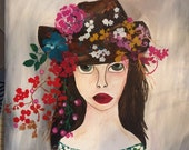 Country girl art