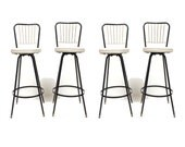 Set of 4 Vintage Stools