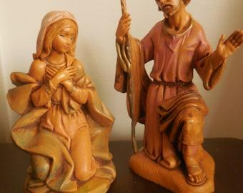 Fontanini Mary and Joseph