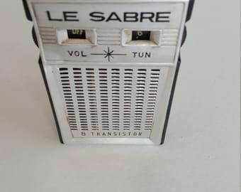 Le Sabre Transistor Radio