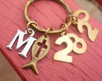 Scripture Keyring-Matthew 28:20-I am with you always