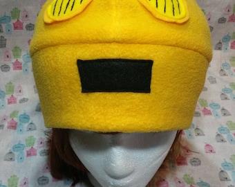 Handmade C-3PO Robot Star Wars Inspired Fleece Hat