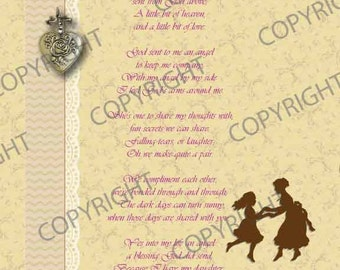 To My Daughter Poem Print