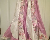 Girls Long Pink and White Fairy Swirl Skirt Size 6/8 for jkochend