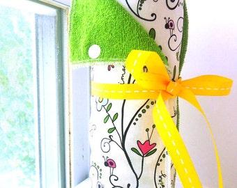Custom Unpaper Towels | Snapping Reusable Paper Towels | Eco Friendly Cloth Paper Towels | Half Set of 6 | You Choose Fabric
