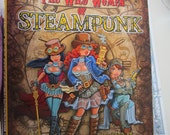 Steampunk coloring book. wild women story included inner hues , BIG SALE #57