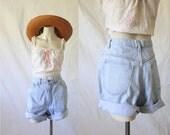 high waist shorts / 14 / 30 waist
