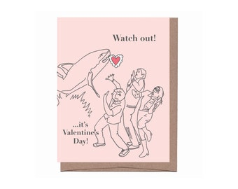Shark! Valentine Card