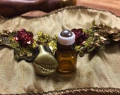 Goldenscale: The tiniest adorablest little vial of handcrafted fragrance