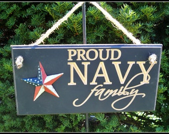 us navy sign carved, us navy sign, carved navy sign, routed military sign, Proud Navy Family, sign, family sign, routed sign, carved sign