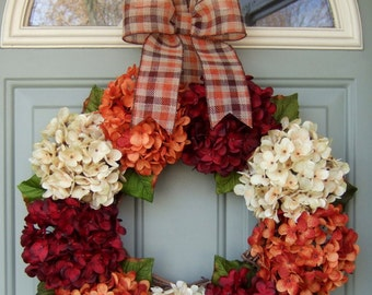 Fall Wreath - Wreath for fall - Wreath for Fall Door