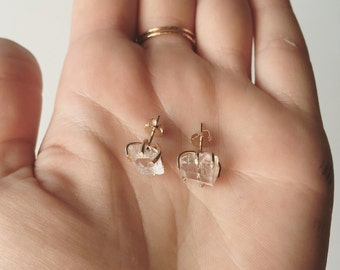 Desert 14k Rose Goldfill Stud Earrings
