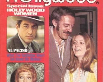 1972 Rona Barrett's HOLLYWOOD Magazine - Al Pacino, Carol Burnett, John Astin & Patty Duke on Cover!