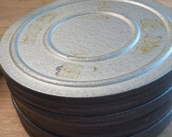 vintage movie canisters