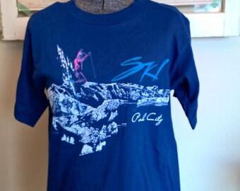 Pristine Vintage 1987 Park City Ski T-Shirt