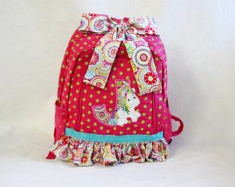 Girl's Backpack...Unicorn Backpack Full Size