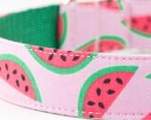Watermelon Dog Collar