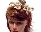 Octopus Headband, Amigurumi Octopus, Octopus Costume, Metal Headband, Octopus Cosplay, Costume Headband, Octopus Hair band