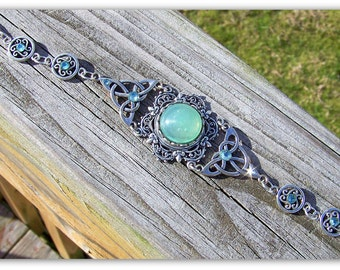 Celtic Bracelet - Outlander - Scottish Jewelry, Celtic Jewelry, Celtic Wedding, Scottish Bracelet, Celtic Knot, Irish Jewelry, Medieval