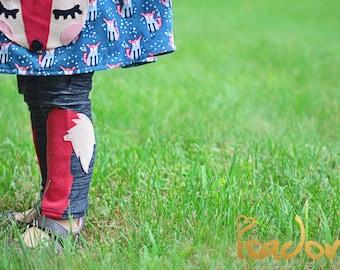 Fox tail Leggings