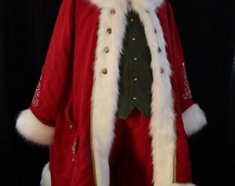 Custom Victorian Santa Costume
