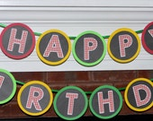 READY TO SHiP Farm Birthday Banner Old MacDonald Party Barnyard Bash 1st Birthday Chalkboard Banner Down on the Farm Animal Party Decoration