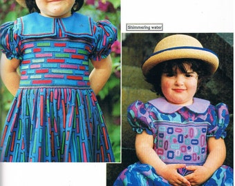 Smocking With Colour, Using the 'Jigsaw' Method of Smocking Designs by Jan McNess