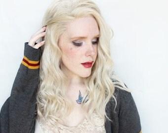 SALE Blonde Lace Front Wig | Long Wavy Platinum Blonde Wig | White Blonde, Ash blonde wig | Off Campus