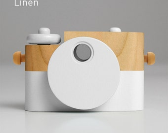 Linen Pixie - Wooden Toy Camera