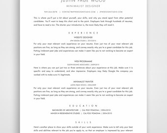 modern resume resume design cv template professional resume template simple resume