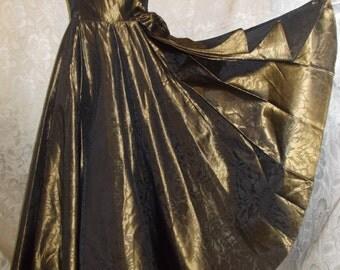 Laura Ashley 50s Style Prom Dress